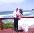 couple getting married on Gold Coast