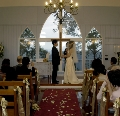 wedding ceremony at Hilltop on Tamborine wedding chapel